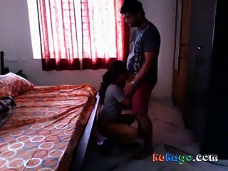 Hot Bengali girl quickie fuck with neighobour in their way neighbourhood