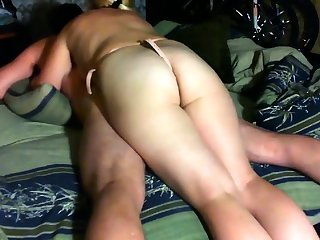 Femdom strapon bitches ass fucking their disconcerting victim