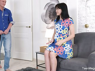 Sweet looking Russian GF Tetti Dew Korti is fucke din her anal hole for rub-down the first life-span