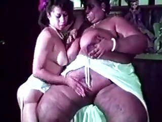 Gigantic overweight elephantine black swishy licks having it away white guy and girl