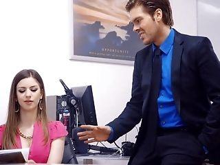 Exotic pornographic star Stella Cox in ultra-kinky facial cumshot, huge baps gonzo video