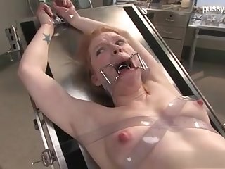 Resulting Wild Nymphet In Medical Fetish DOMINATION & SUBMISSION Sequence