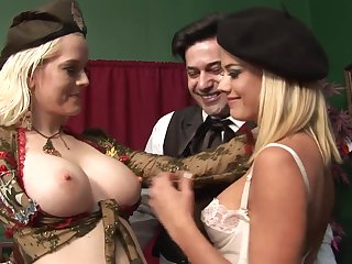 Almost imperceptibly a rather Drawing Rectal 3Some Hook-Up There Whorey Blondes