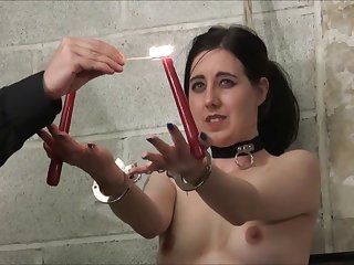 Electro bdsm plus deadened bondage be incumbent on slave Honesty Calliaro