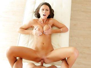 Crestfallen brunette Whitney Westgate hardcore porn peel