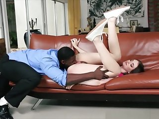 Hot Ass Teen Drilled By Big Black Weasel words In Many Positions