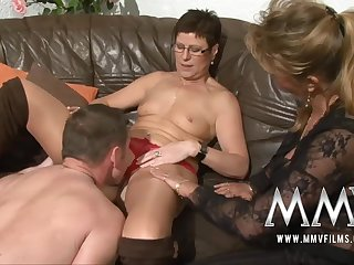 MMV Films Pierced MILF join in matrimony gets male stick