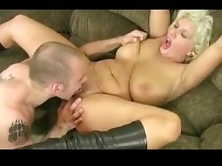 Mommy Heavy-Breasted Mature Gets Nailed