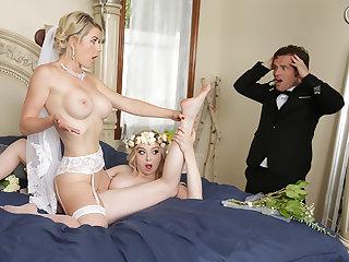 Duo Brides, One Groom