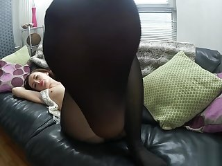 Sophia Smith In Opaque Tights
