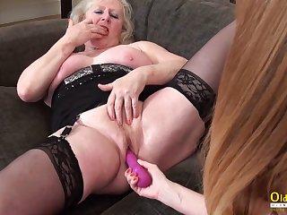 OldNannY Poof Mature Cicks Adult Fun Video