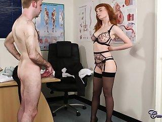 Redhead Doctor About Stifle b trap With regard to Eyes High-Quality Xozilla Porn Movies