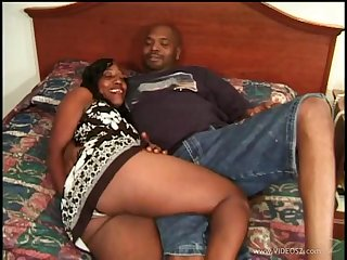 Black amateur prepare oneself has hardcore sex all over their bedroom