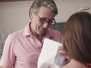 Nothing like a bad bitch getting punished and fucked by her stepdad