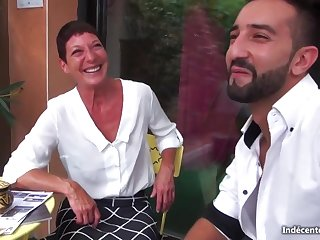 Marielle French Cougar Fornicateed Unconnected with Youngster