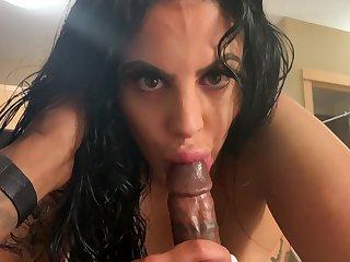 PAWG Pov Porn On This BIG BLACK COCK - interracial