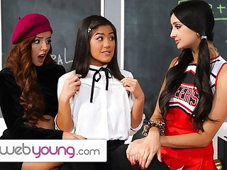 WebYoung Trio Fun During Detention Nearly Eliza Ibarra