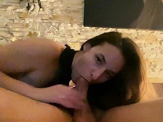 Amateur day blowjob on webcam